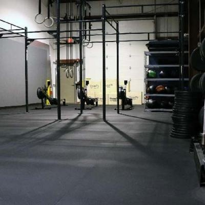 Anti-Fatigue Gym Rubber Flooring
